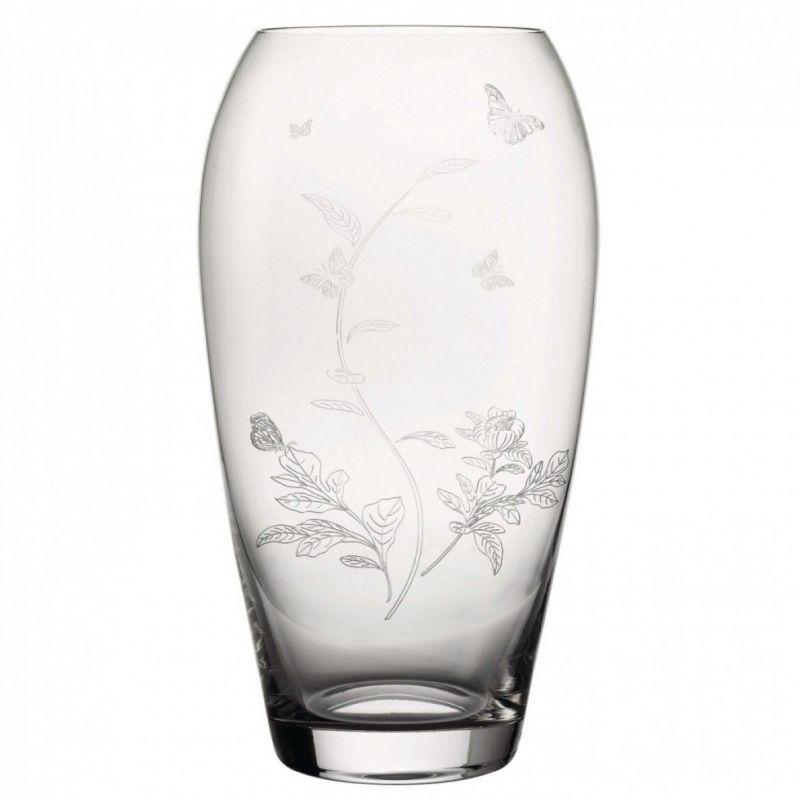 Ваза 29 см Miranda Kerr, прозрачное стекло