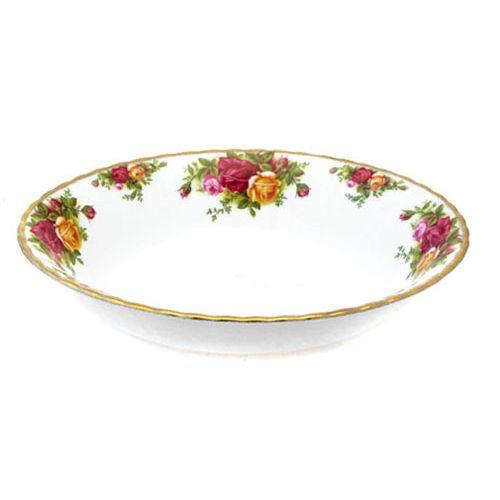 Ваза для вторых блюд открытая 23 см Розы Старой Англии