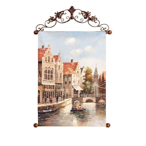 Картина Старый Амстердам 60*90 см