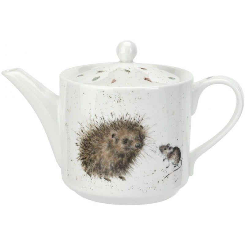 "Чайник Royal Worcester ""Забавная фауна. Ёжик и мышки"" 0,6л"