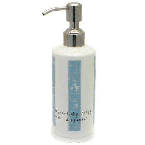 Емкость для жидкого мыла/Блу Страйп