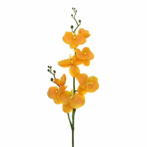 Фаленопсис оранжевый 75см живое прикосновение