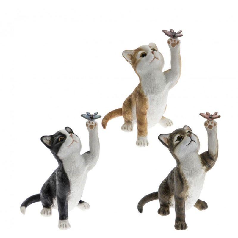 Фигурка Озорной котенок 12 см 3 вида