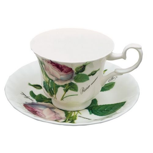 Чайная пара 230 мл Роза Редаут