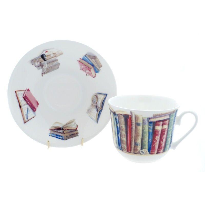 Чайная пара для завтрака Литература 500 мл