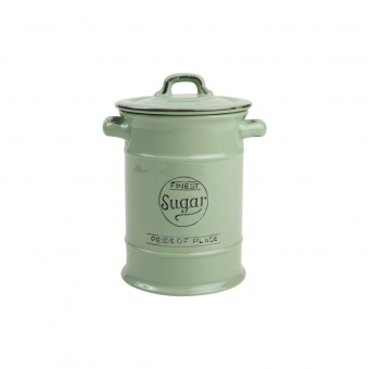 T&G Ёмкость для хранения сахара Pride of Place in old green 19*12 см