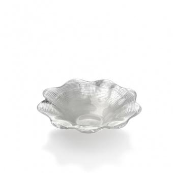IVV Салатник большой Amarillis цвет серебряный, 25*5,8 см