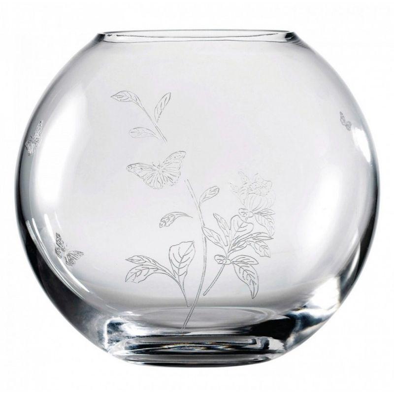 Ваза круглая для роз, Miranda Kerr, 20 см прозрачное стекло