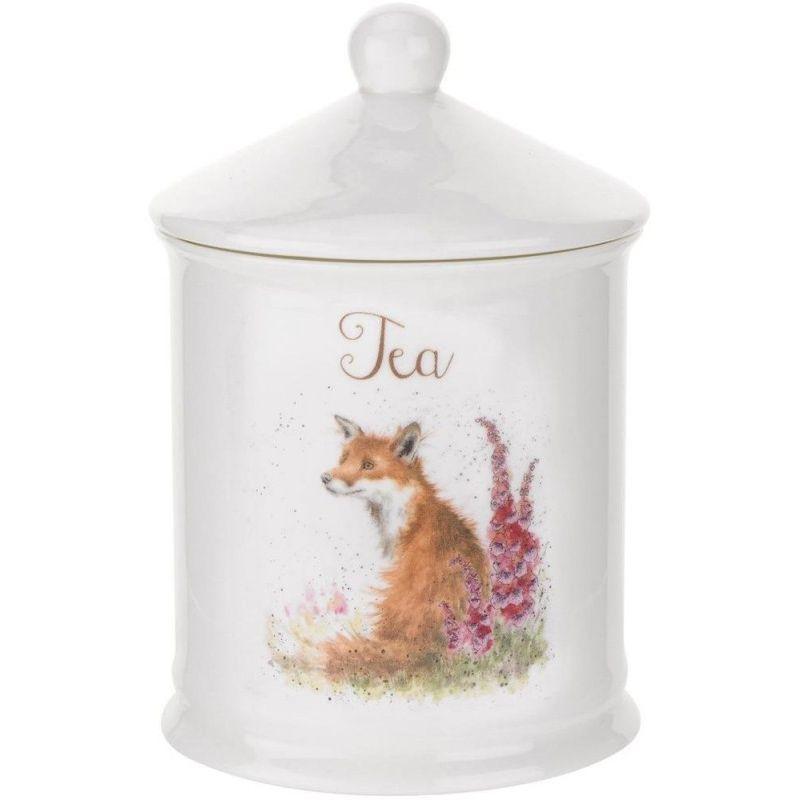 """Банка для чая с крышкой Royal Worcester """"Забавная фауна"""" 14,5см"""