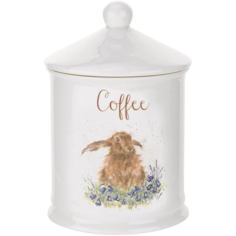 "Банка для кофе с крышкой Royal Worcester ""Забавная фауна"" 14,5см"