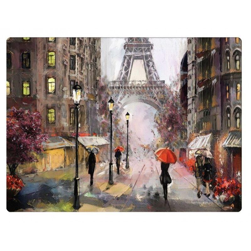 Подставки на пробке Свидание в Париже 40х29 см (4шт)