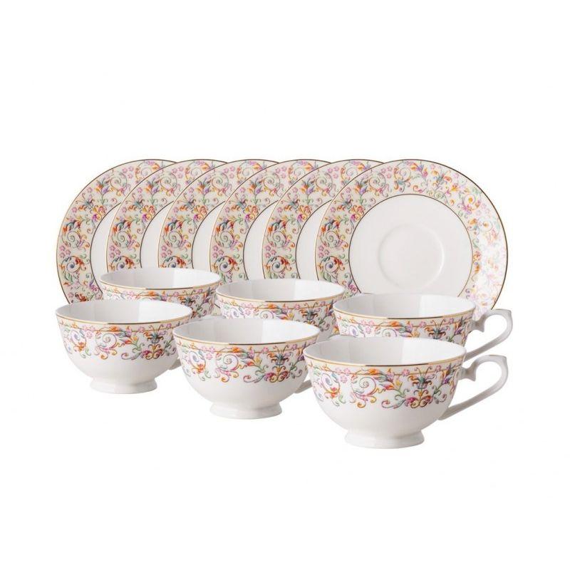 Роял Айвори чайный набор 12пр