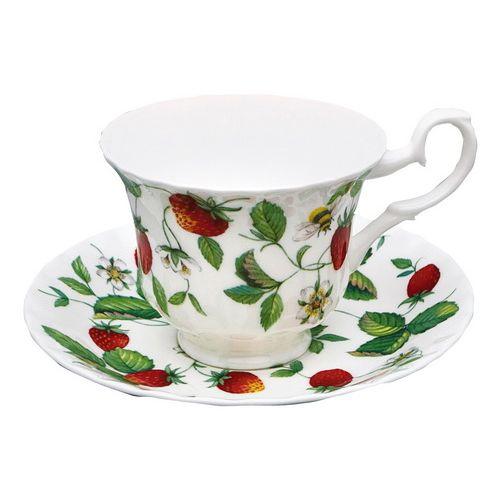 Чайная пара 230 мл Земляника