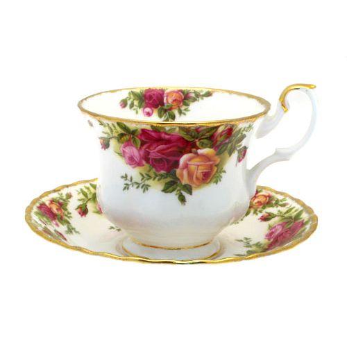 Пара чайная 200мл Розы Старой Англии