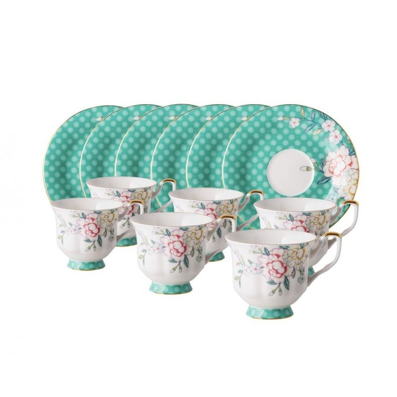 Соланж чайный набор 12 пр., 6 персон