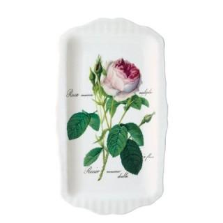 Поднос для сендвичей 31*18 см Роза Редаут