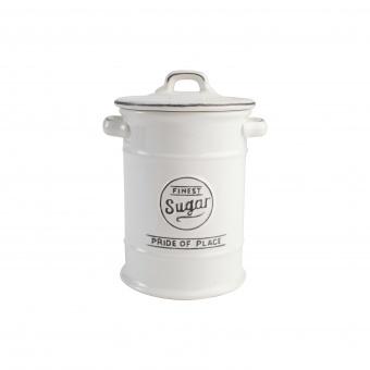 T&G Ёмкость для хранения сахара Pride of Place in white 19*12 см