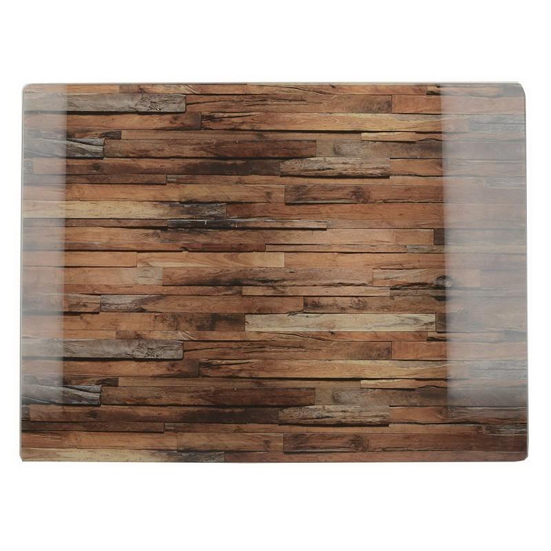 Доска стеклянная Деревянная текстура 30х40 см