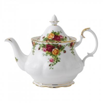 Чайник большой 1300 мл Розы Старой Англии