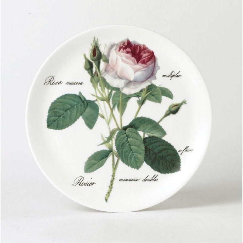 Тарелка Coupe 27 см Роза Редаут