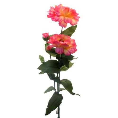 Циния темно-розовая 80 см живое прикосновение