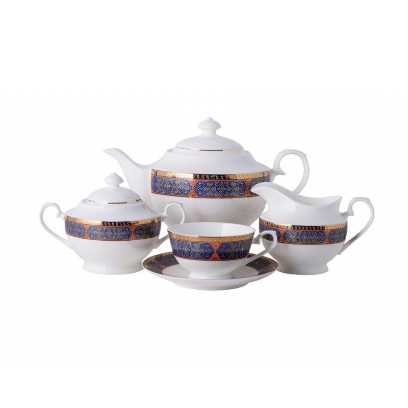 Астерия Голд чайный сервиз 15пр
