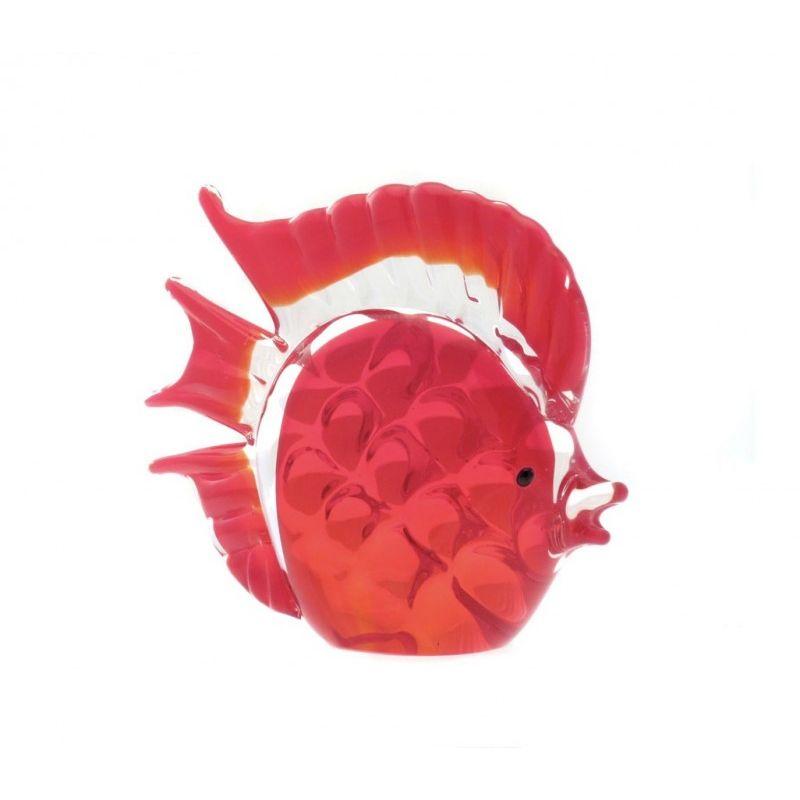 Фигурка Красный дискус 15х13см