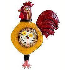 Часы Кукареку 34см