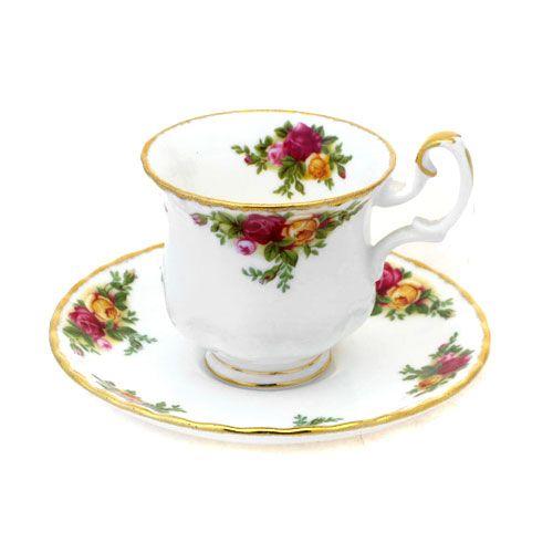 Пара кофейная Мокка 100 мл Розы Старой Англии