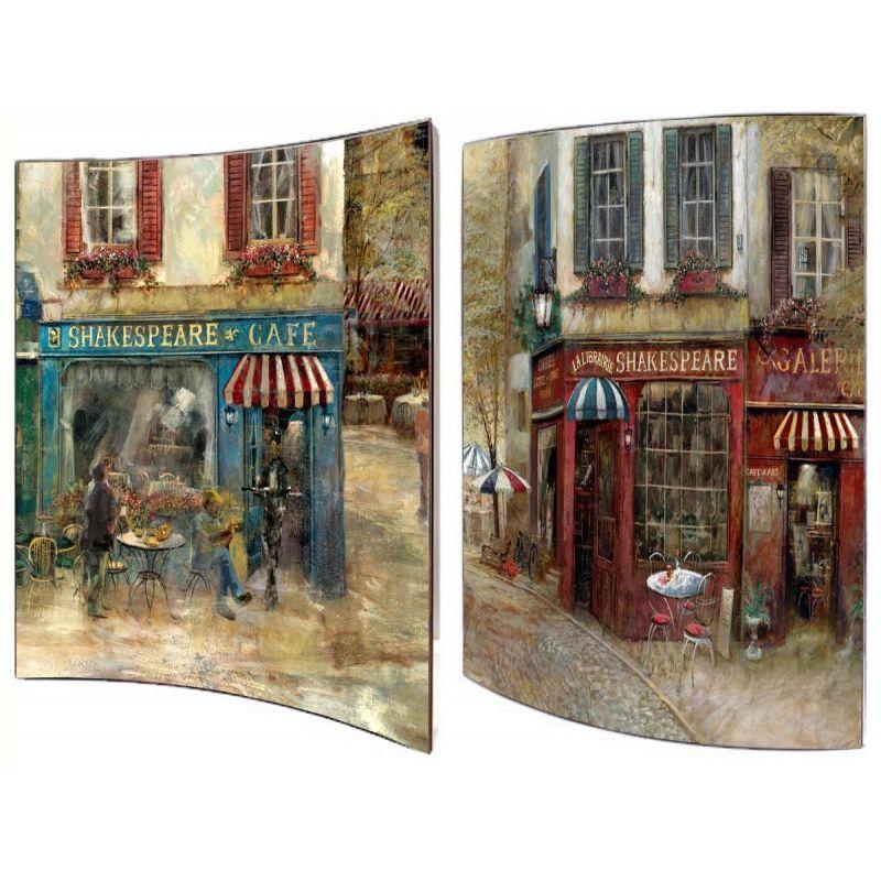 Картина Старый Лондон 41х51 см (пара)