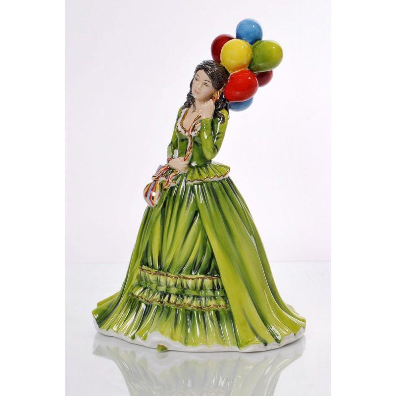 Статуэтка Продавец воздушных шаров 22 см CE036