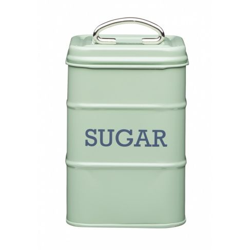 Kitchen Craft Ёмкость для хранения сахара Living Nostalgia green 11*11*17 см