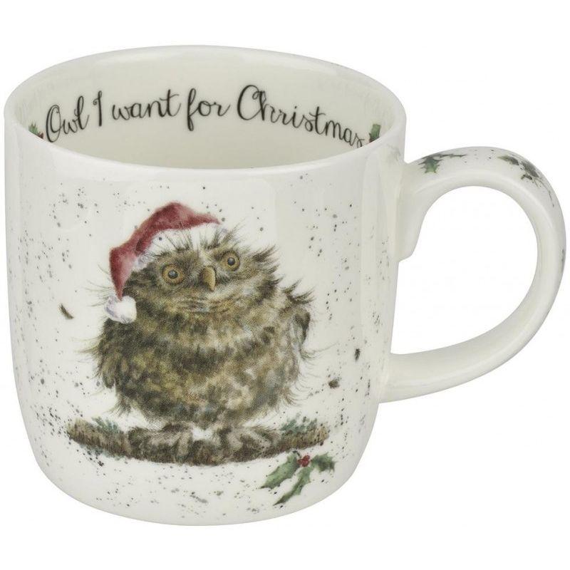 """Кружка Royal Worcester """"Рождественская совушка"""" 310мл"""