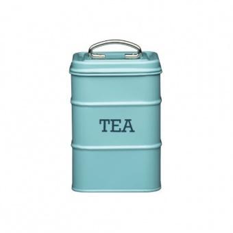 Kitchen Craft Ёмкость для хранения чая Living Nostalgia blue 11*11*17 см