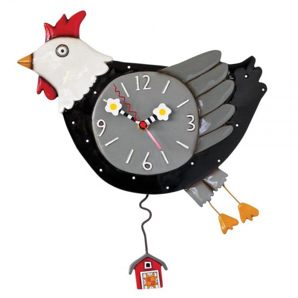 Часы Побег из курятника 29 см