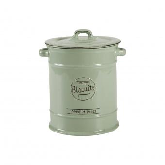 T&G Ёмкость для хранения печенья Pride of Place in old green 22*17,5*16,3 см