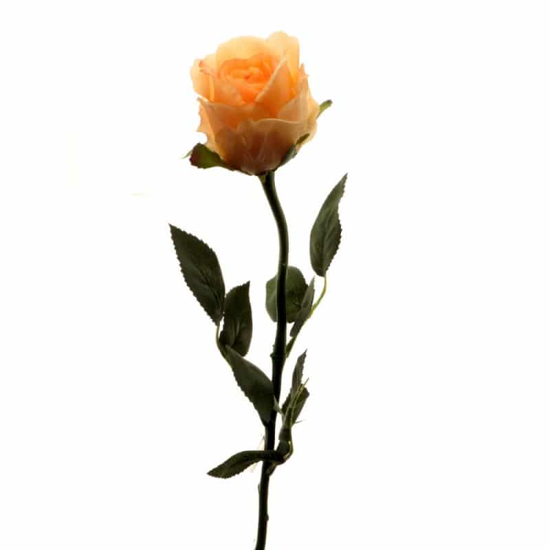 Роза Богема розовая 65 см живое прикосновение