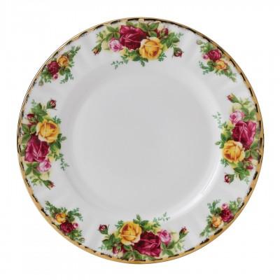 Набор тарелок 20 см 6 шт Розы Старой Англии