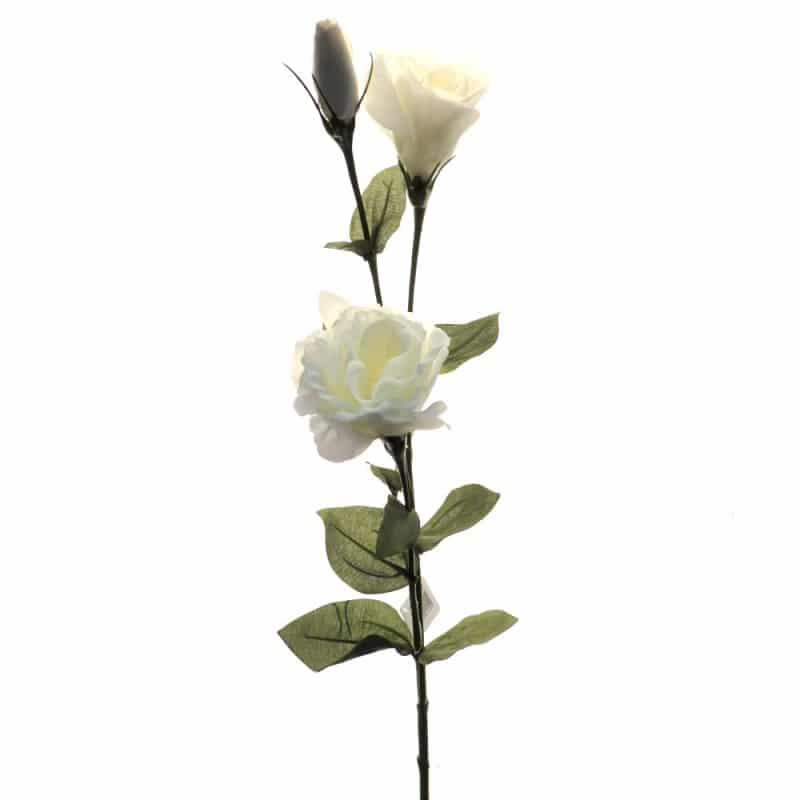 Лизиантус белый 85 см живое прикосновение
