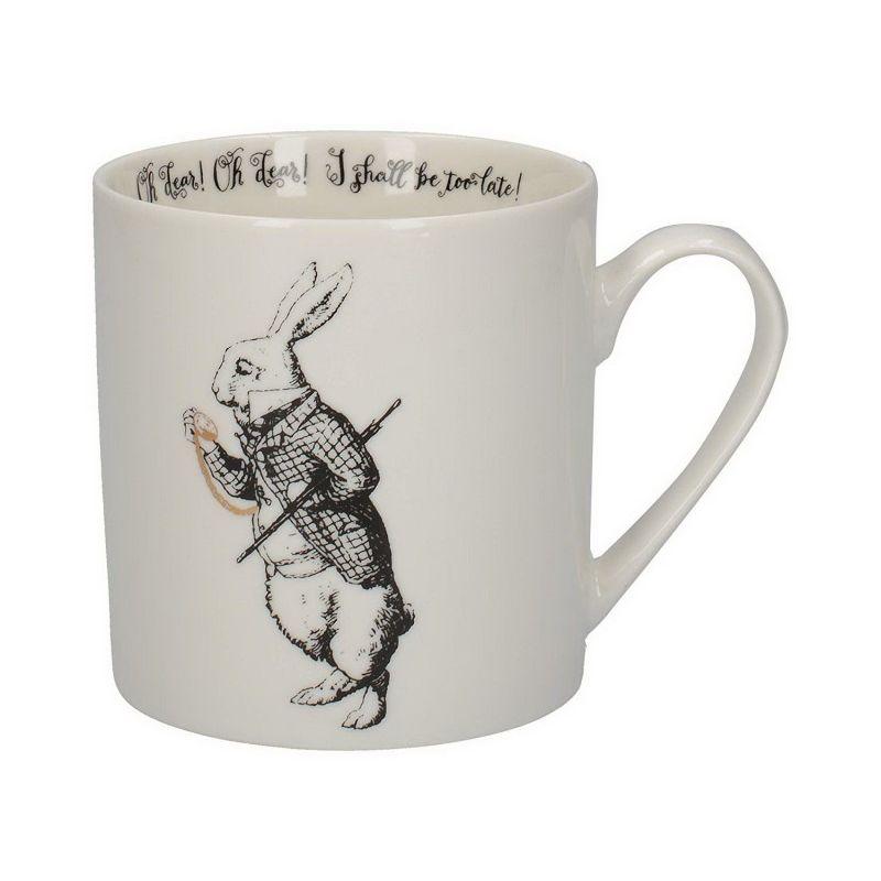 Алиса в стране чудес Кружка Белый кролик 350мл