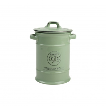 T&G Ёмкость для хранения кофе Pride of Place in old green 19*12 см