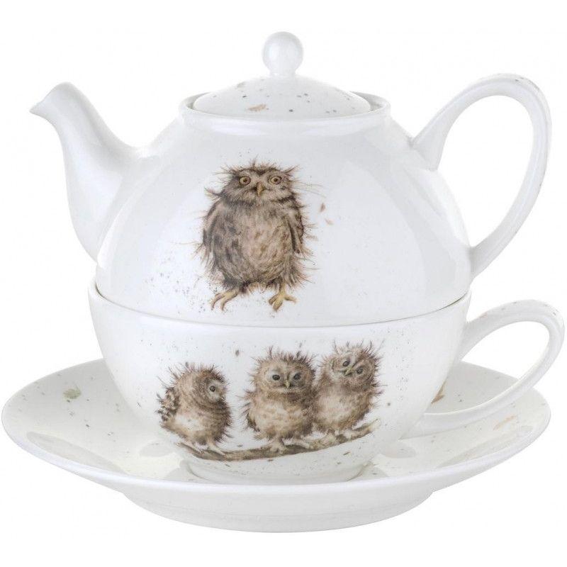 """Набор чайный Royal Worcester """"Эгоист.Забавная фауна"""" 300мл"""