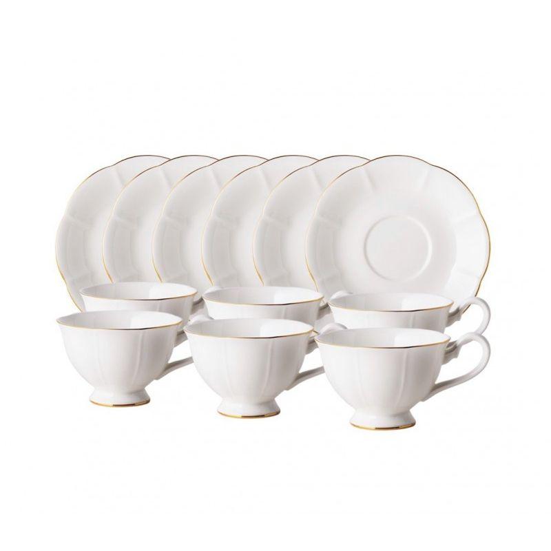 Блан-де-Неж чайный набор 12пр