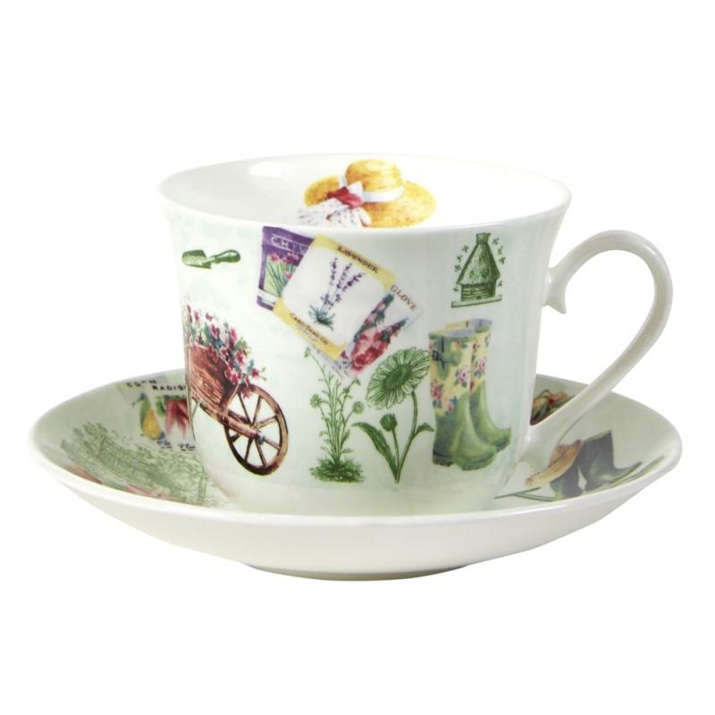 Чайная пара для завтрака В саду 500мл