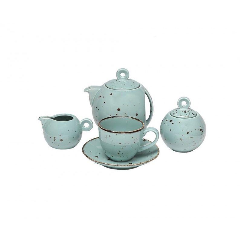 Чайный сервиз Коттедж Тифанни 15 предметов, 6 персон
