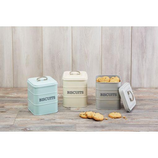 Kitchen Craft Ёмкость для хранения печенья Living Nostalgia blue 19*14,5*14,5 см