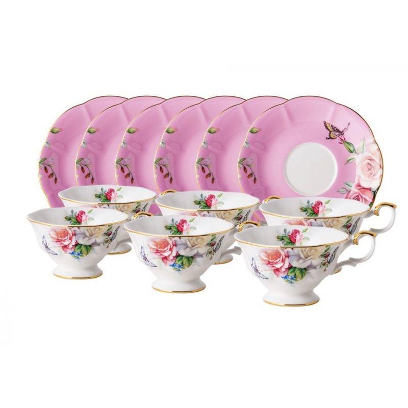 Флоризон чайный набор 12 предметов, 6 персон.