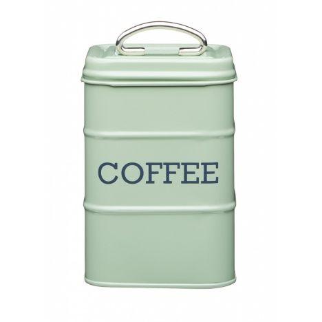 Kitchen Craft Ёмкость для хранения кофе Living Nostalgia green 11*11*17 см