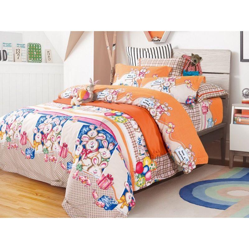 Комплект постельного белья 1,5-спальный, фланель 136-4S