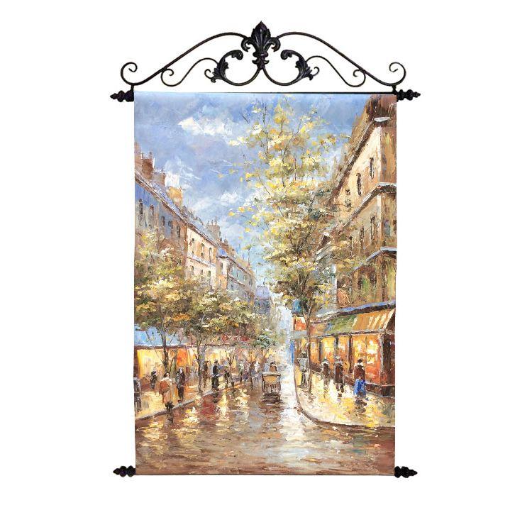 Картина Осенний Париж 60*90 см